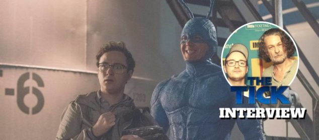 The Tick Interview - Ben Edlund and Griffin Newman