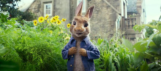 Peter Rabbit (James Corden) in Columbia Pictures' PETER RABBIT.