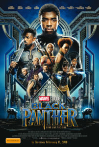 Black Panther poster (Australia)